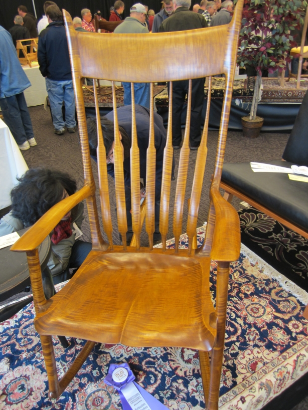 rocking chair plans maloof