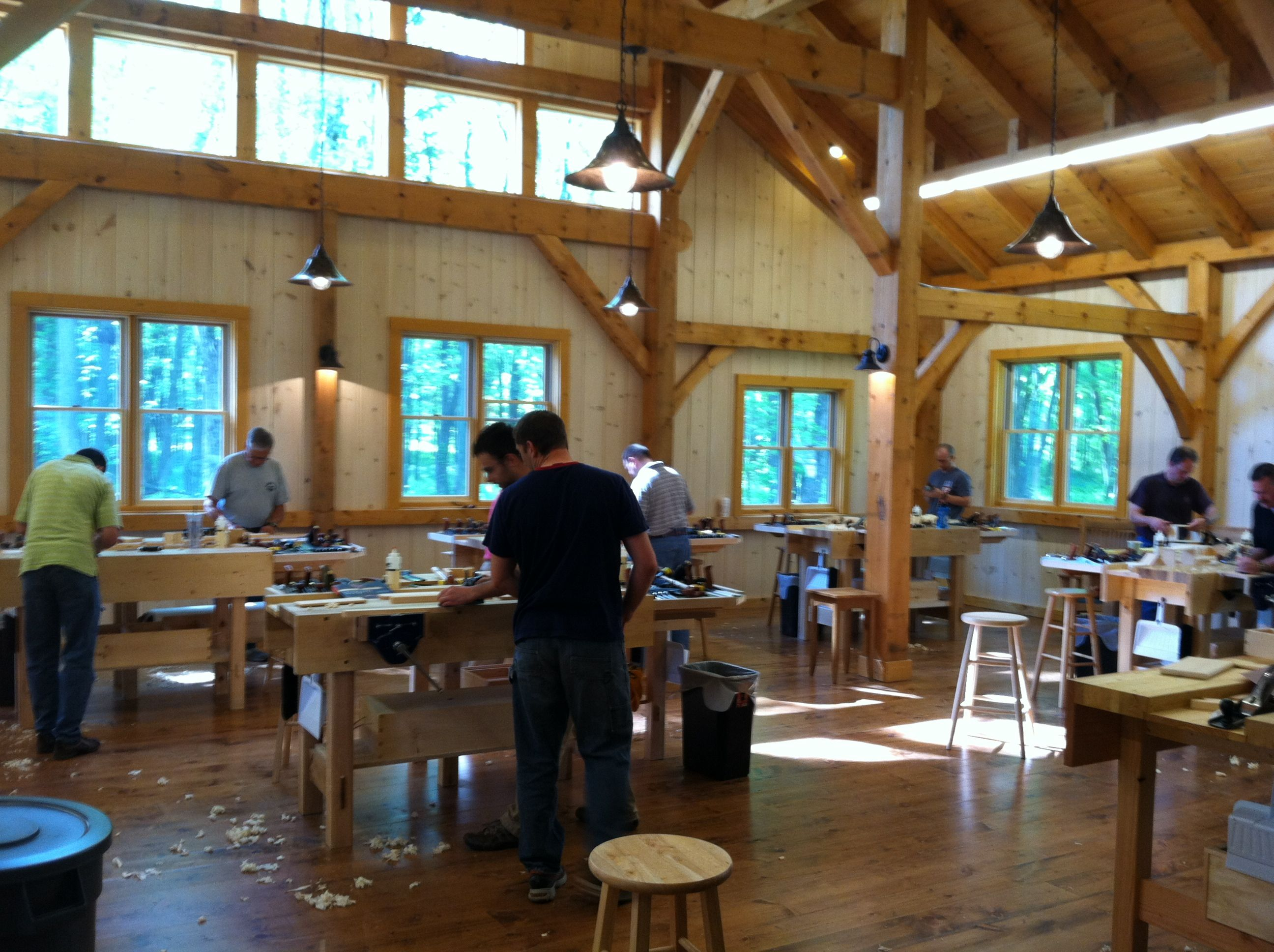 new legacy school of woodworking | the lighthearted woodworker