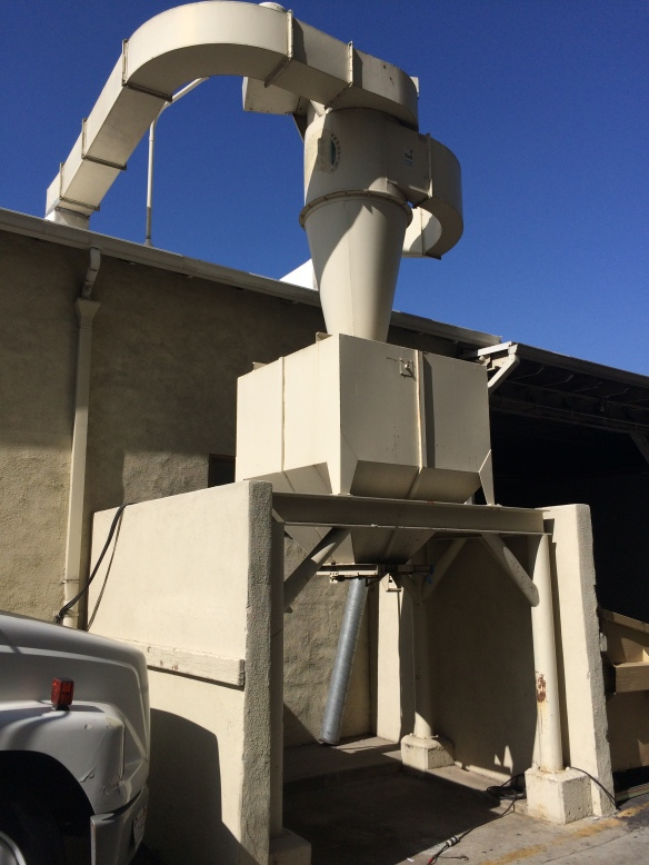 This is a Hollywood Dust Collector!!  This is from the scene shop on the Paramount lot.  Everything is big in Hollywood!